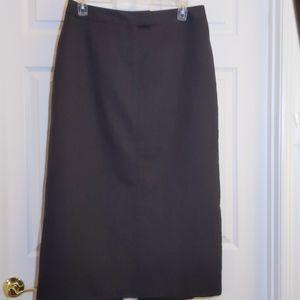 Parisian Signature Maxi Skirt, Size 16
